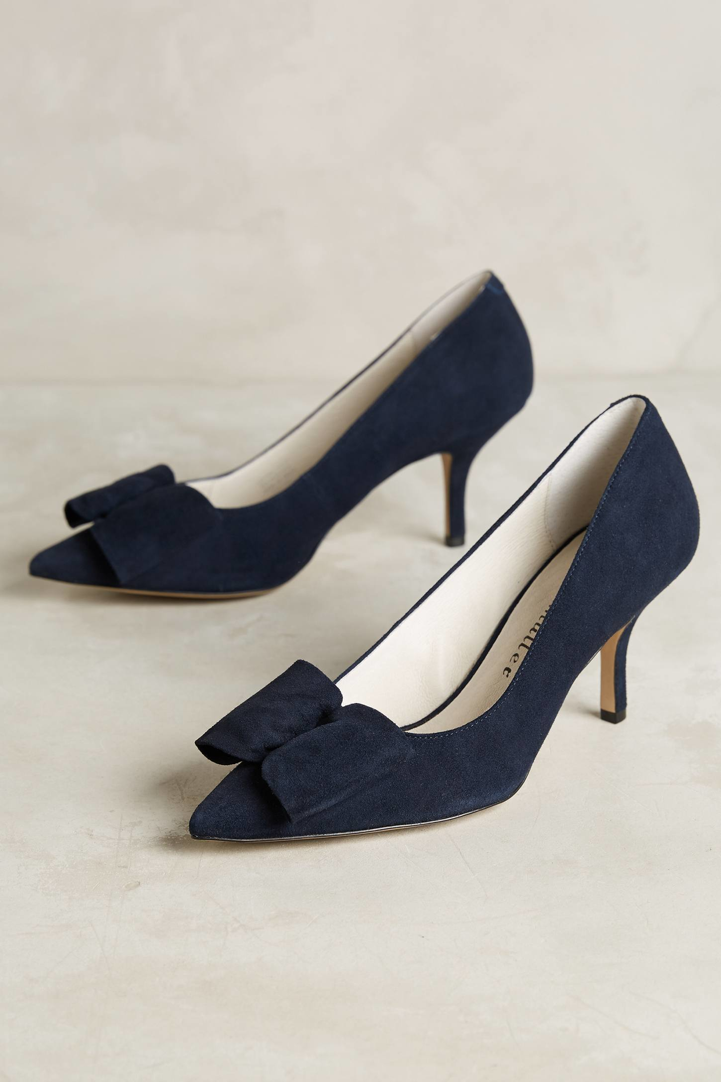 Lyst - Bettye muller Affair Kitten Heels in Blue