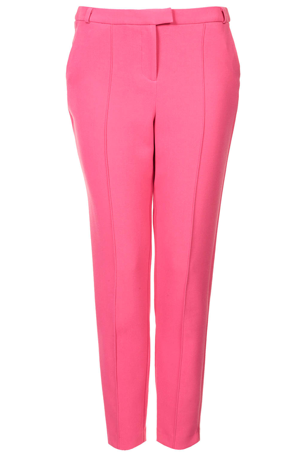 Lyst Topshop Stitch Cigarette Trousers In Pink