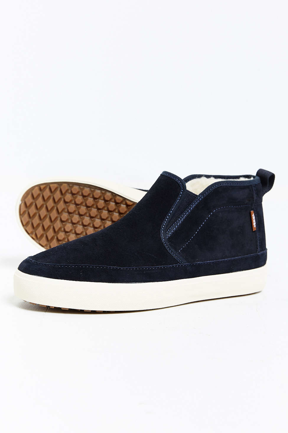 94ef79d470e Lyst - Vans Mid Slip Sf Mte Sneaker in Blue for Men