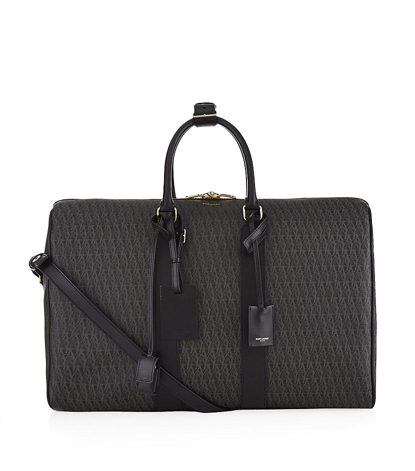 cbfb8a098689 Saint Laurent Monogram Duffle 24 Bag in Black for Men - Lyst