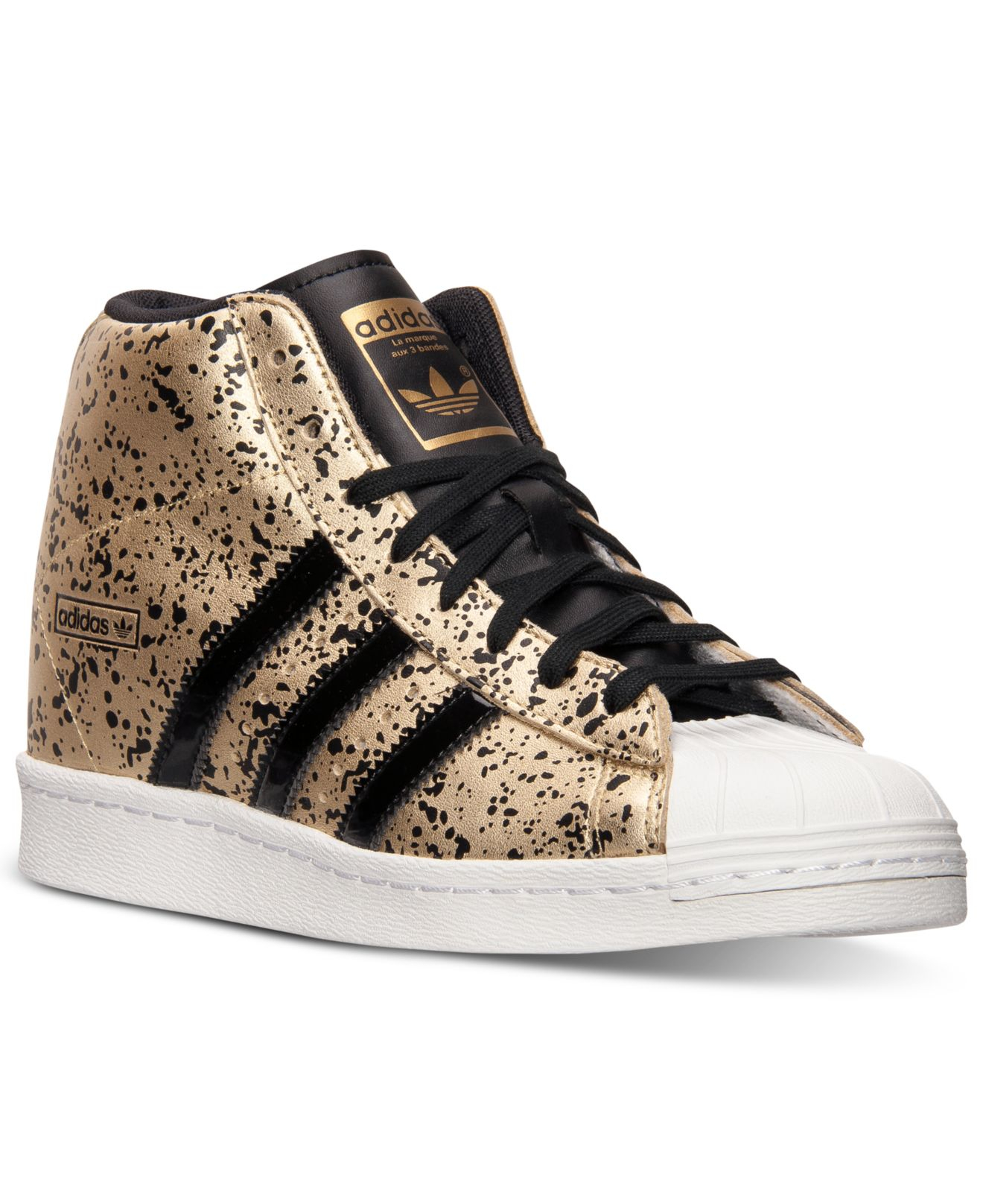 Lyst - adidas Women S Superstar Up Casual Sneakers From Finish Line ... e2c3ebece