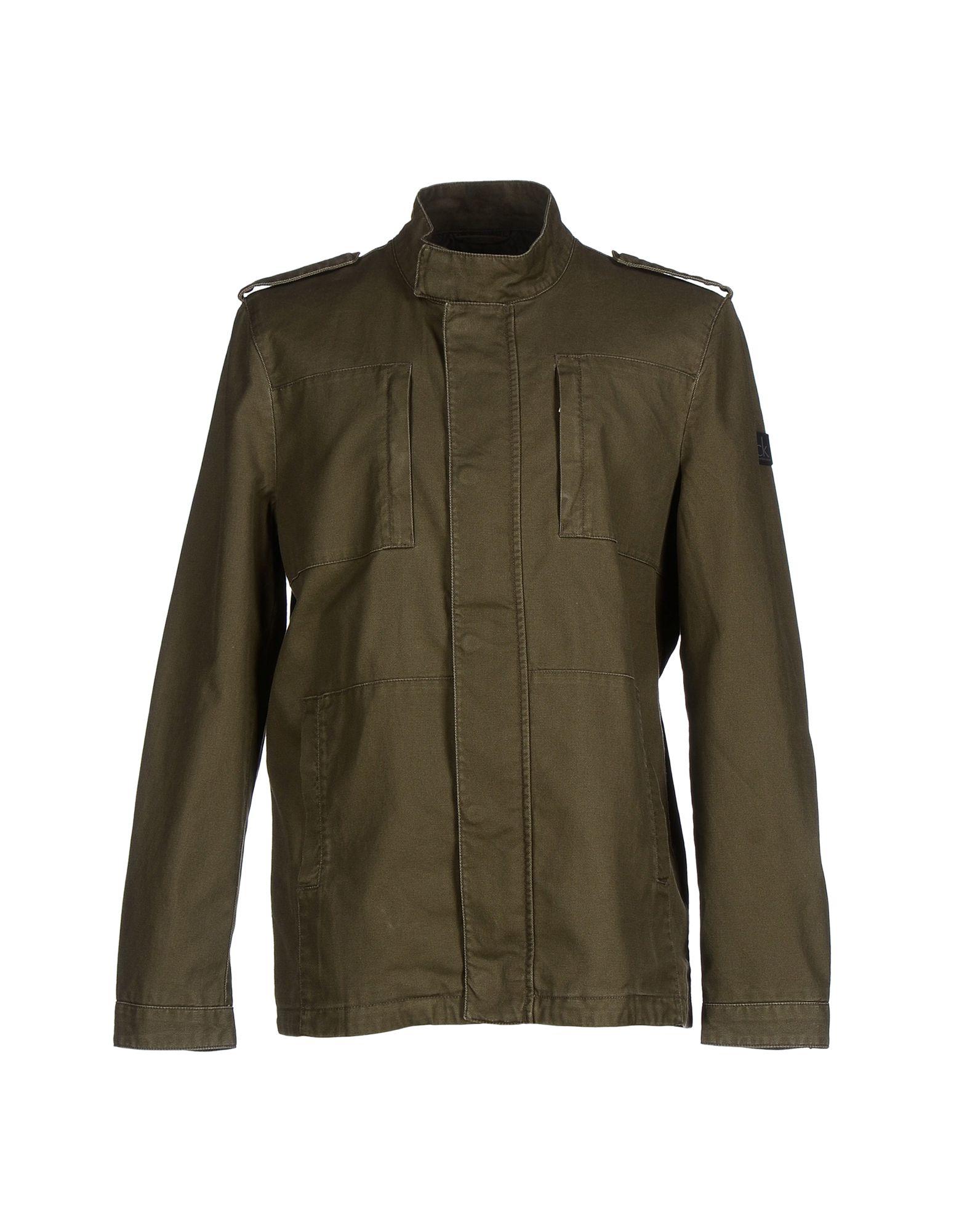Calvin klein jeans Jacket in Green for Men | Lyst