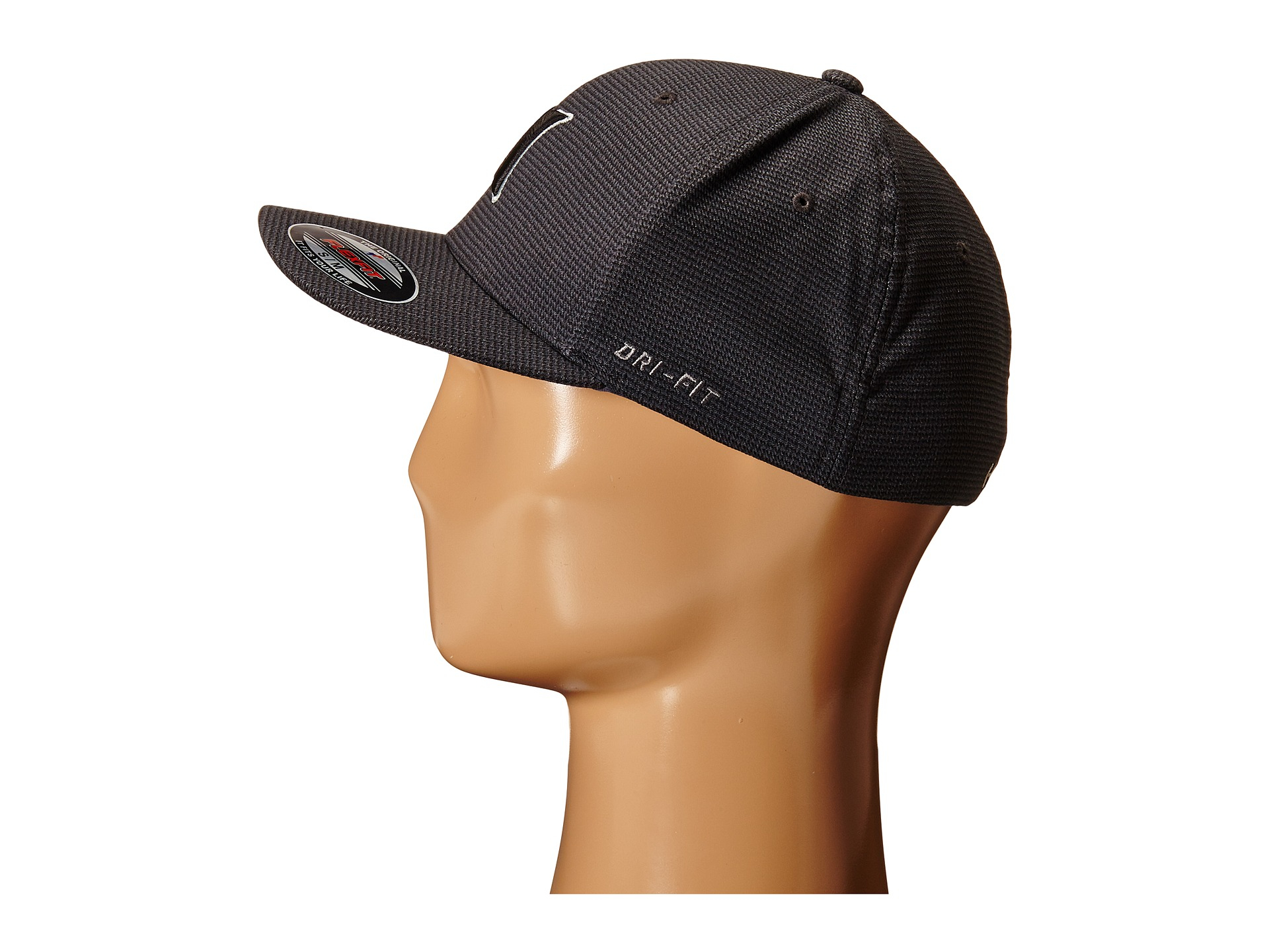 pretty nice 54de9 55b11 ... norway lyst hurley dri fit halyard fitted hat in black for men 84741  231b0