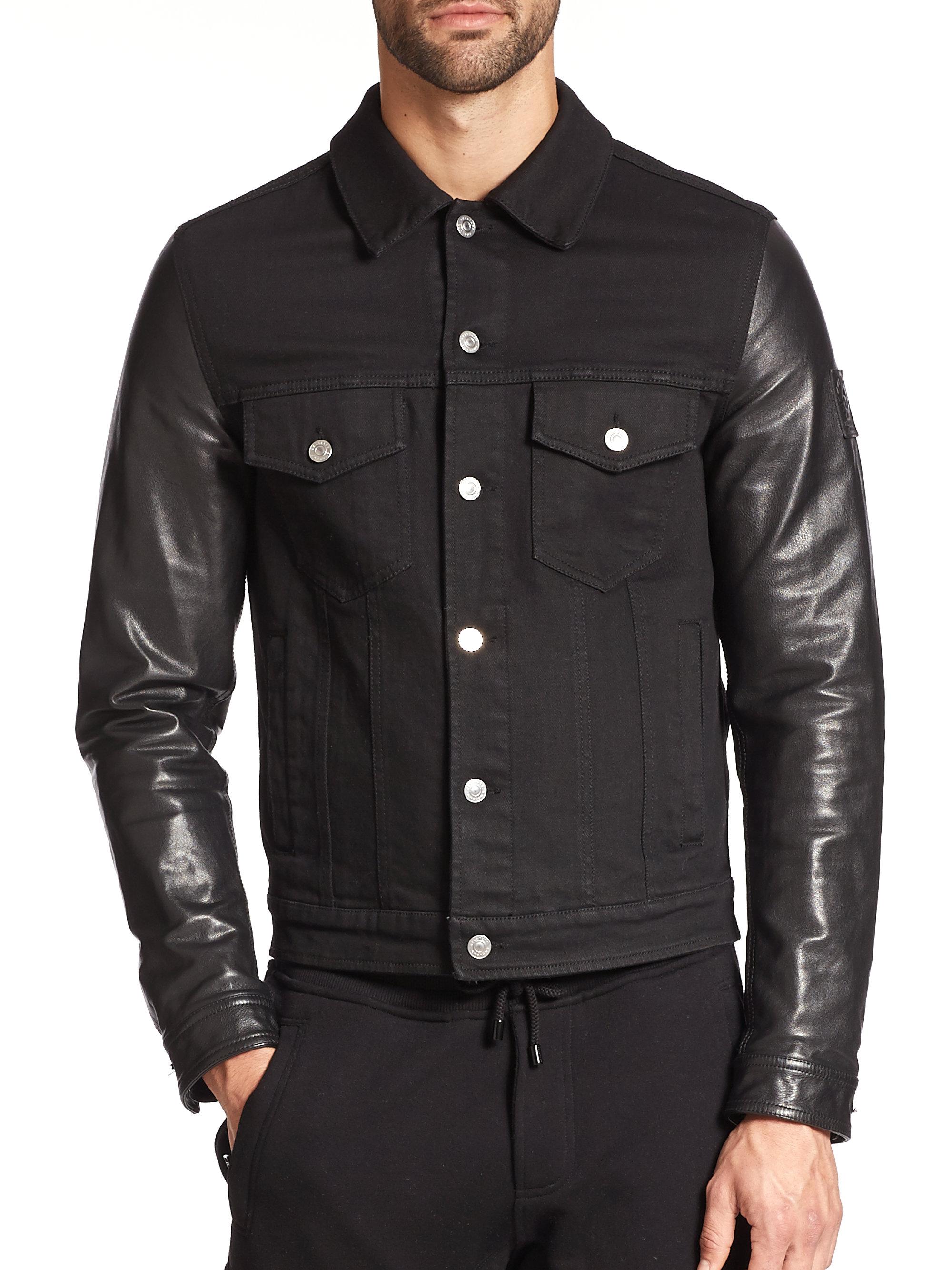 Jacket Denim Men For In Lyst Black Belstaff 8kn0OXPw