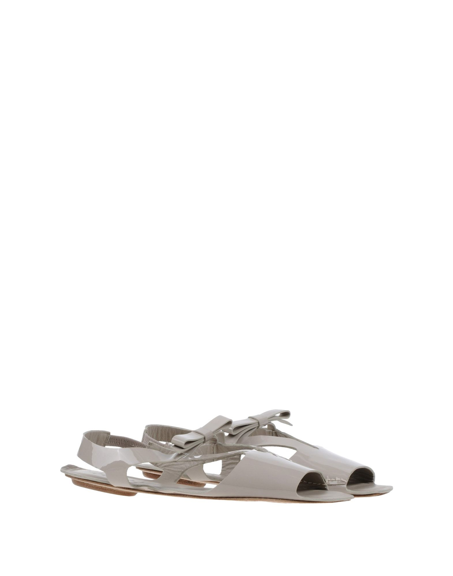 Lyst High Sandals In Gray