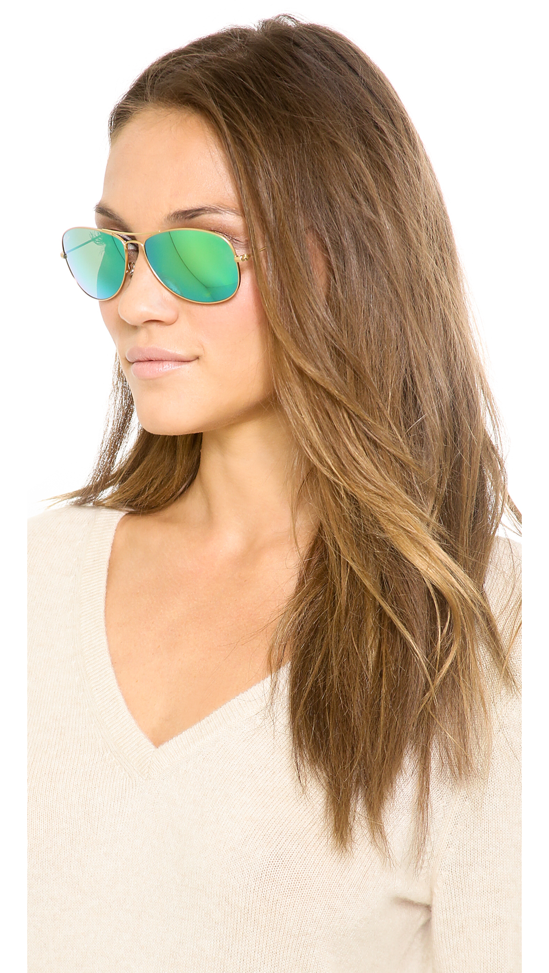 ray ban sonnenbrille aviator 55
