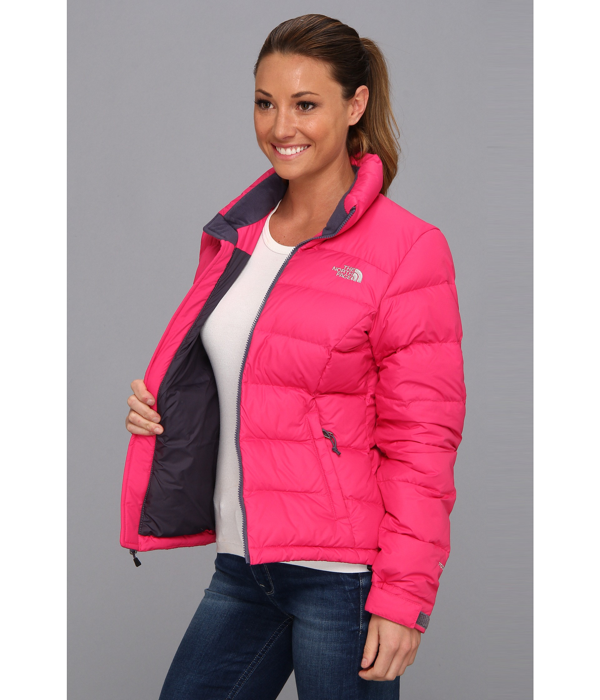 5e2348693c9a Lyst - The North Face Nuptse 2 Jacket in Pink