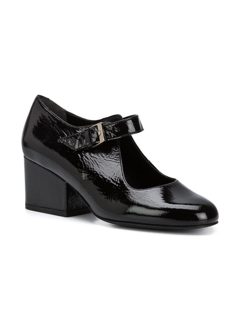 Mary Jane Chunky Heel Shoes