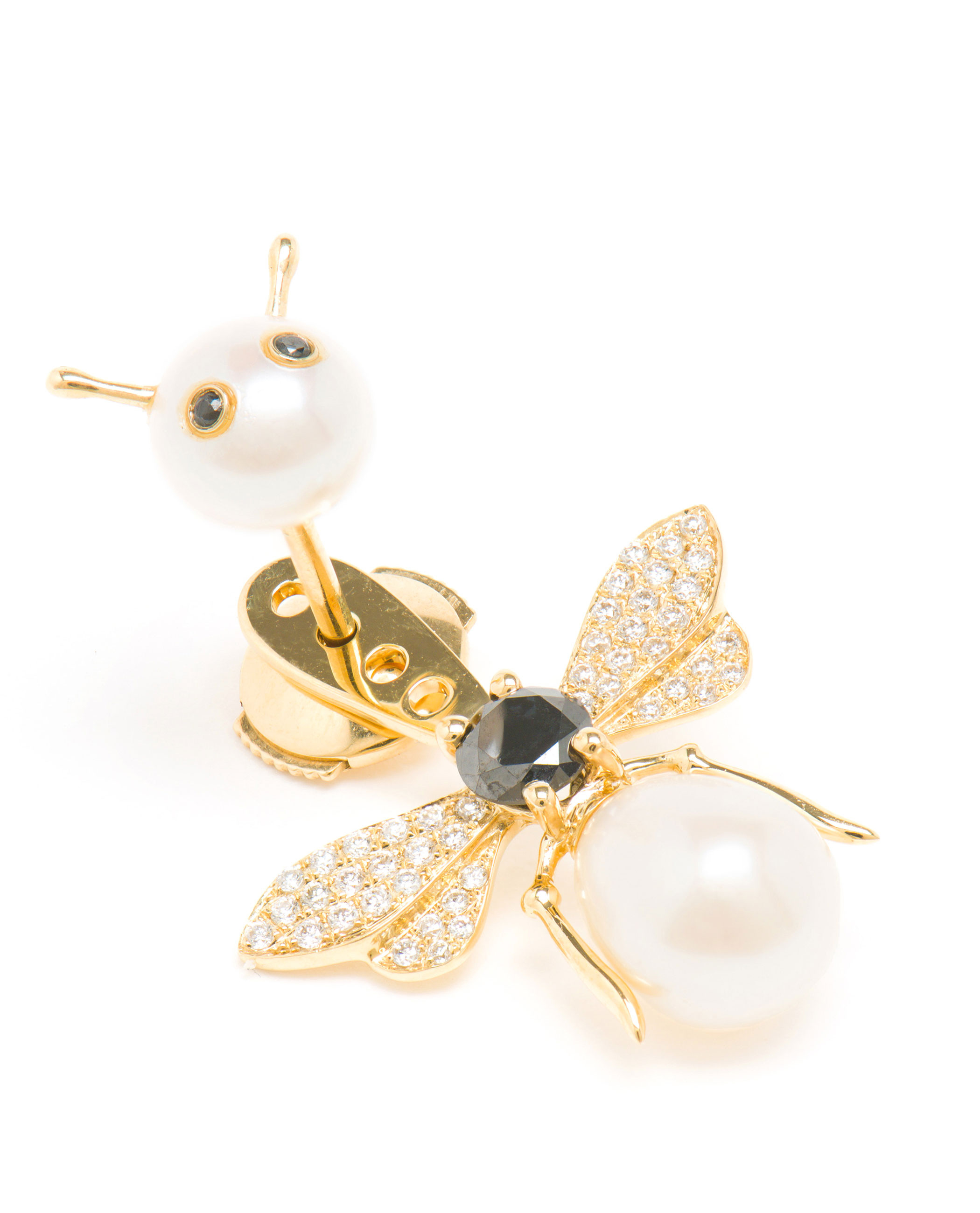 sterling stud store silver earrings bee