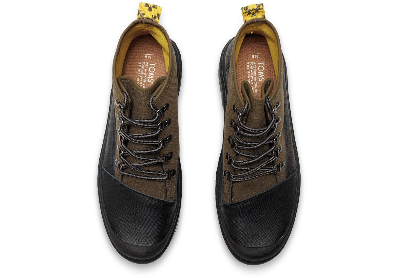 Toms Mens Tarmac Olive Shoes