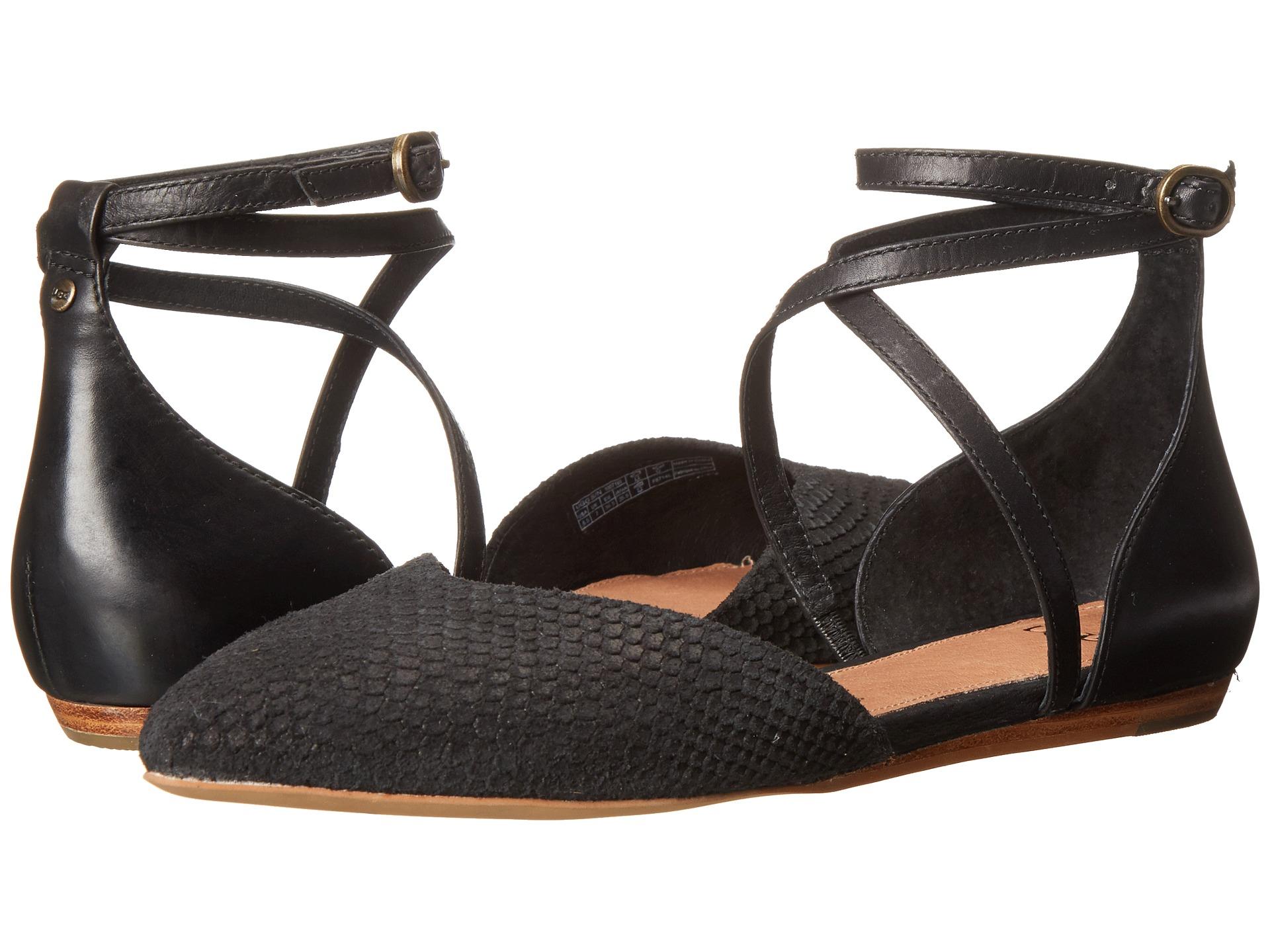 Womens Izabel Mar Flats In Black