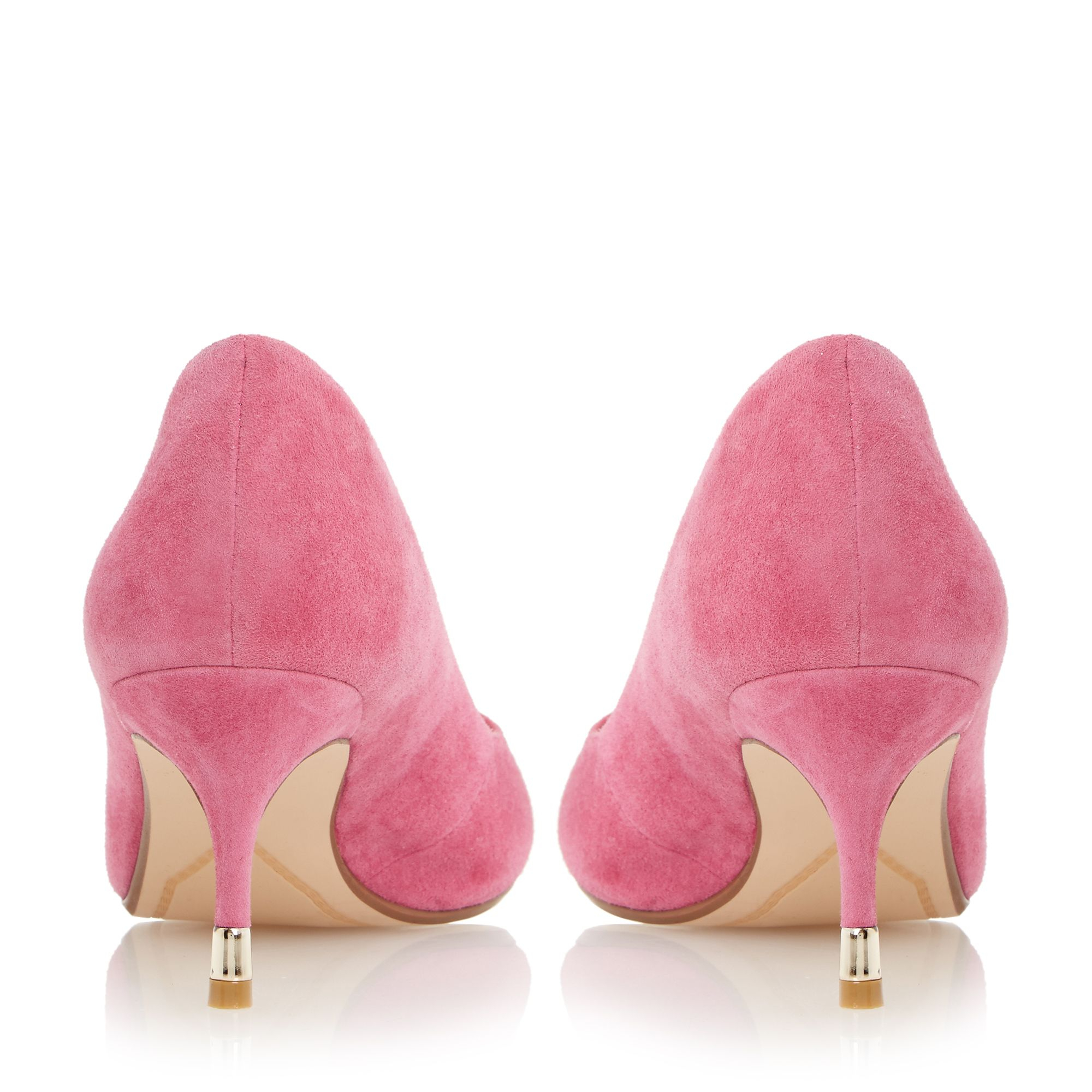 Pink Kitten Heel Shoes - Is Heel