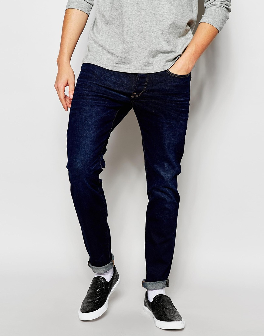 be151279e6 G-Star RAW Jeans 3301 Slim Fit Hydrite Blue Stretch Blue Aged in ...