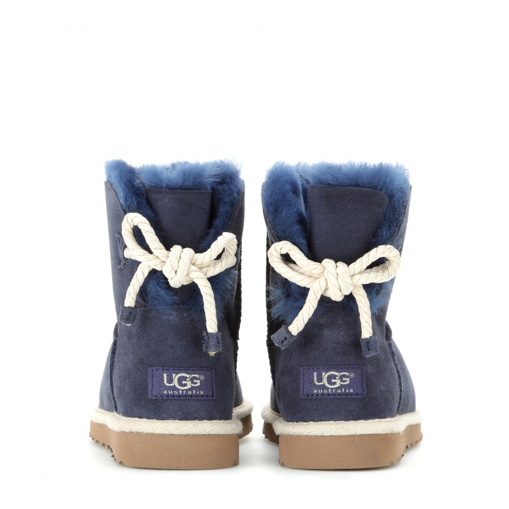 Lyst Ugg Selene Suede Boots In Blue
