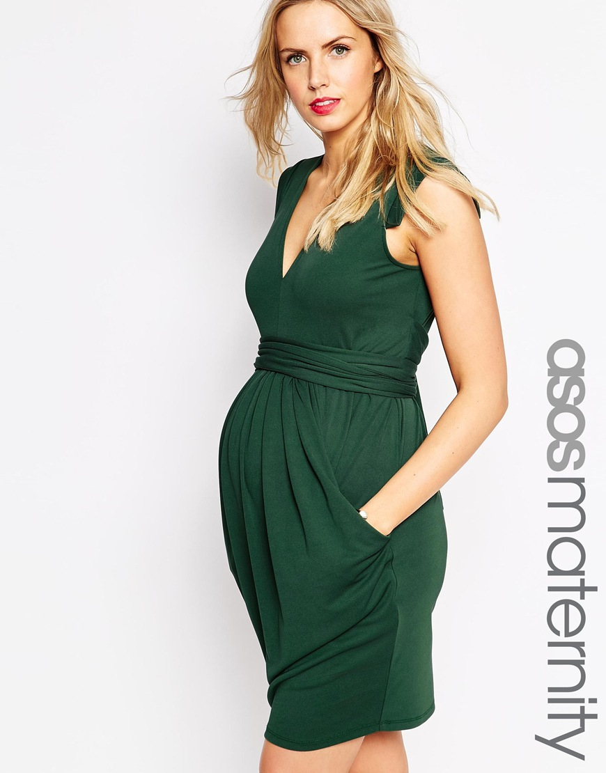 Forest Green Maternity Dresses