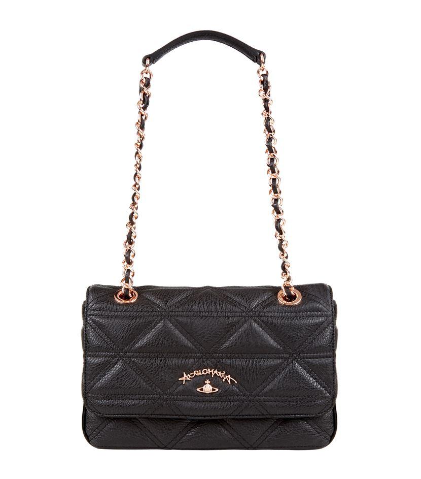 40c63b71d97 Vivienne Westwood Sharlenemania Cross Body Bag in Black - Lyst