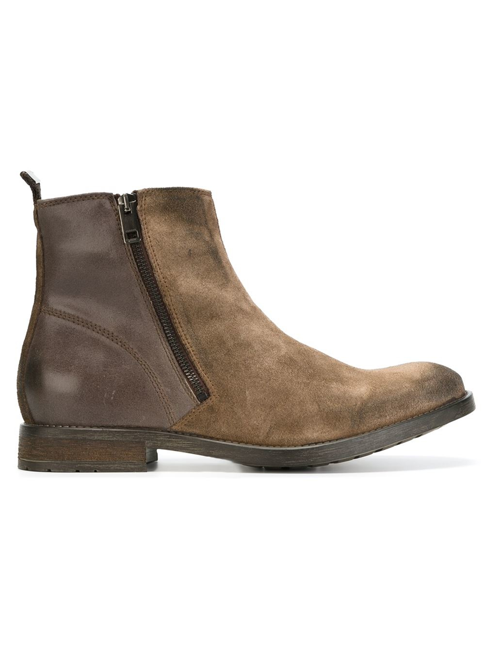 Diesel D Anklyx Ankle Boots In Brown For Men Lyst