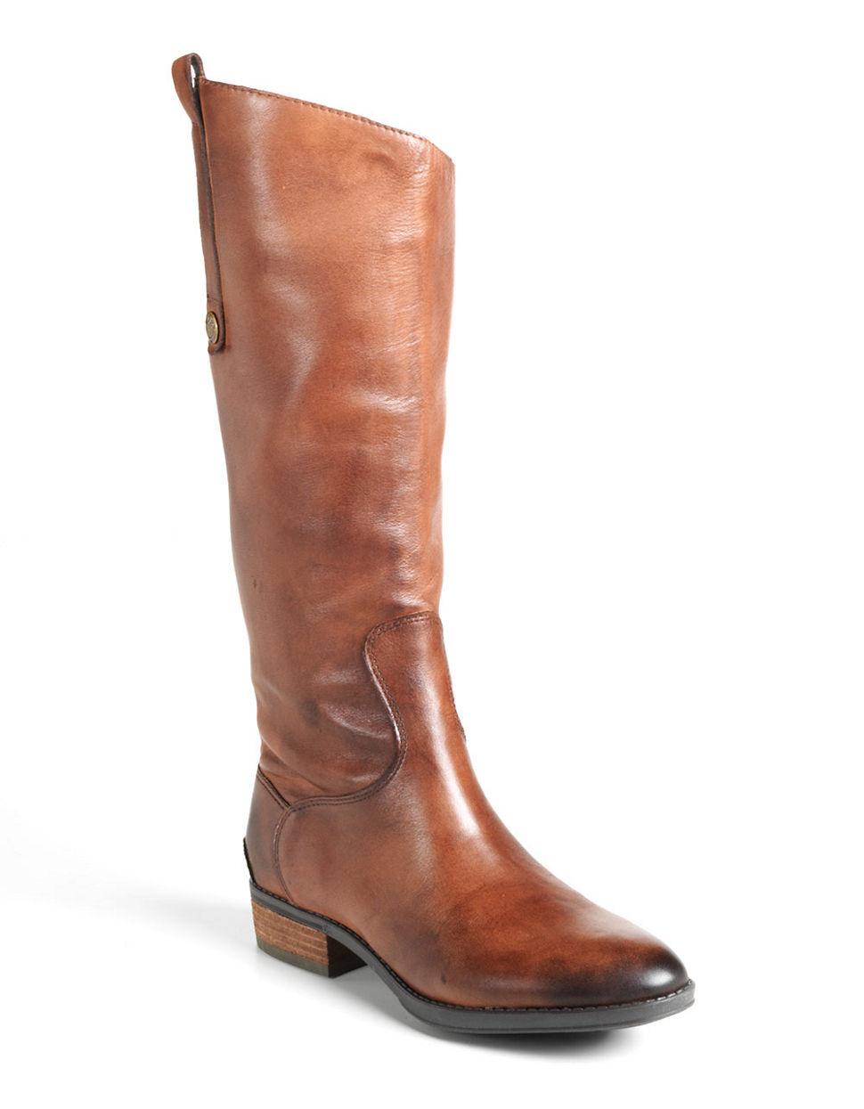 sam edelman boots in brown whiskey lyst