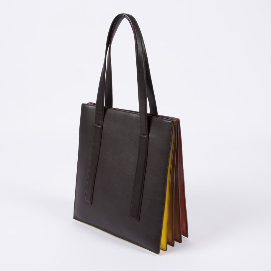 29f3e18379 Paul Smith Women s Chocolate Brown  concertina  Tote Bag in Brown - Lyst