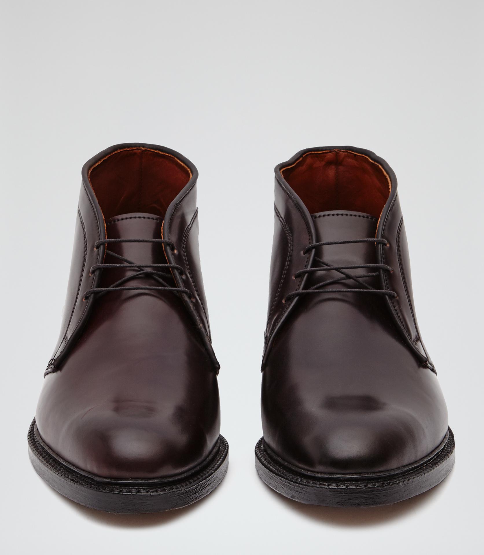 Reiss Dundee Allen Edmonds Cordovan Chukka Boots in Brown for Men ...
