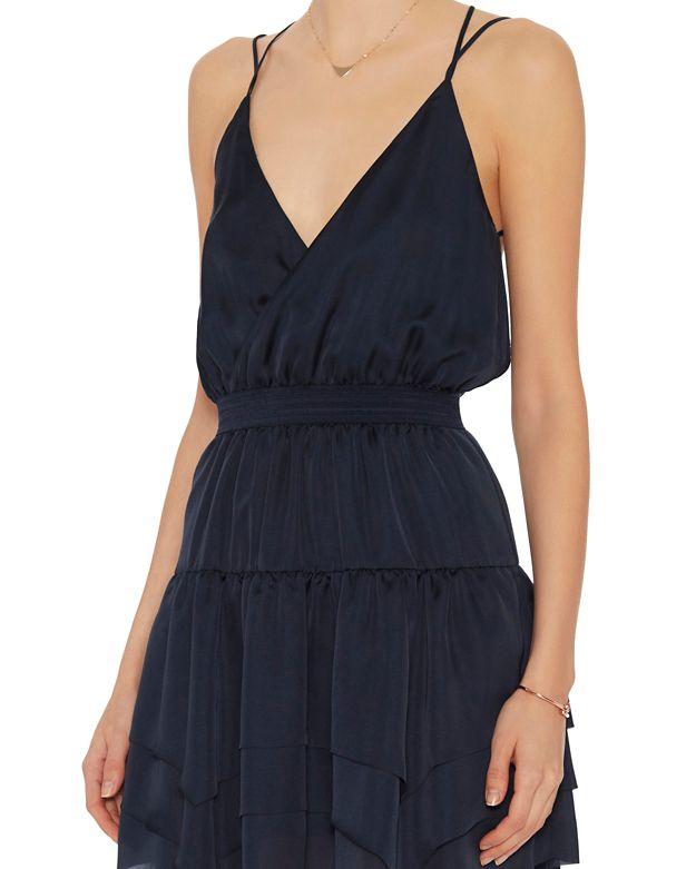 Blue Designers Dress Frill Lyst In Ula Remix YvpqwYx6S