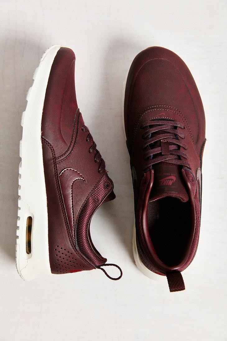 Nike Air Max Thea Premium Sneaker In Brown Lyst