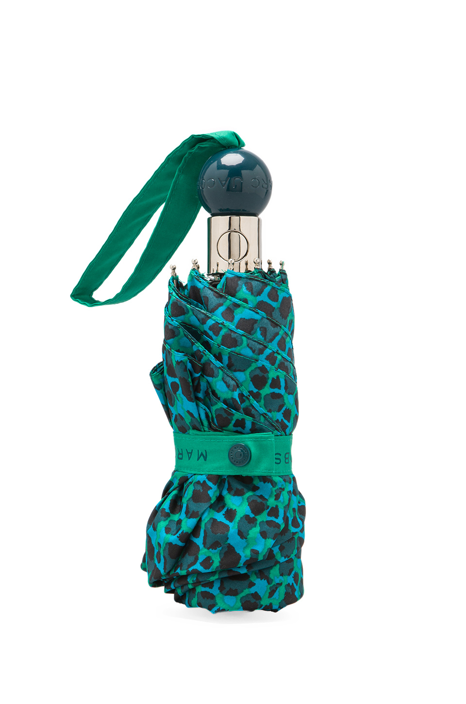 Marc by marc jacobs Isa Printes Umbrella in Green | Lyst
