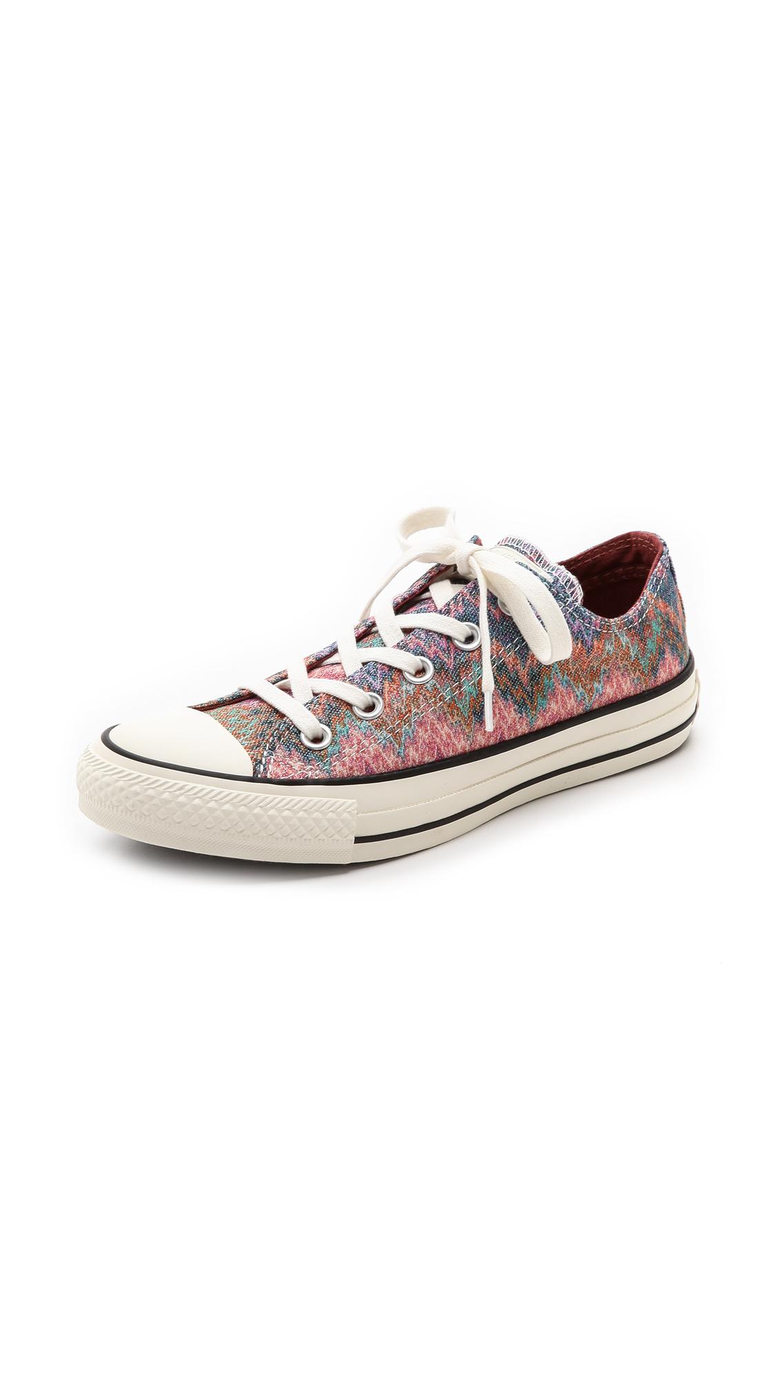 60478d4f79c8 Lyst - Converse Chuck Taylor All Star Missoni Sneakers - Egret Multi