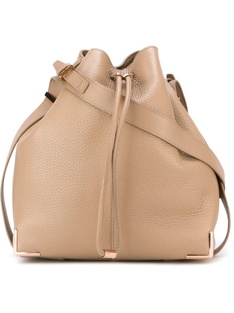 fake chloe purses - alexander wang prisma leather bucket bag, wholesale alexander wang ...