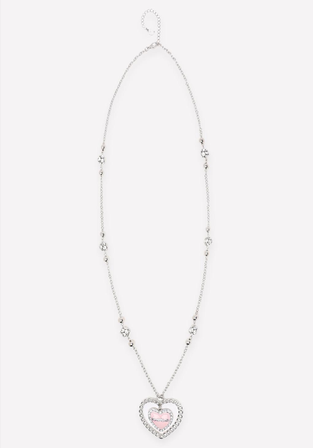 bebe logo pendant necklace in metallic lyst