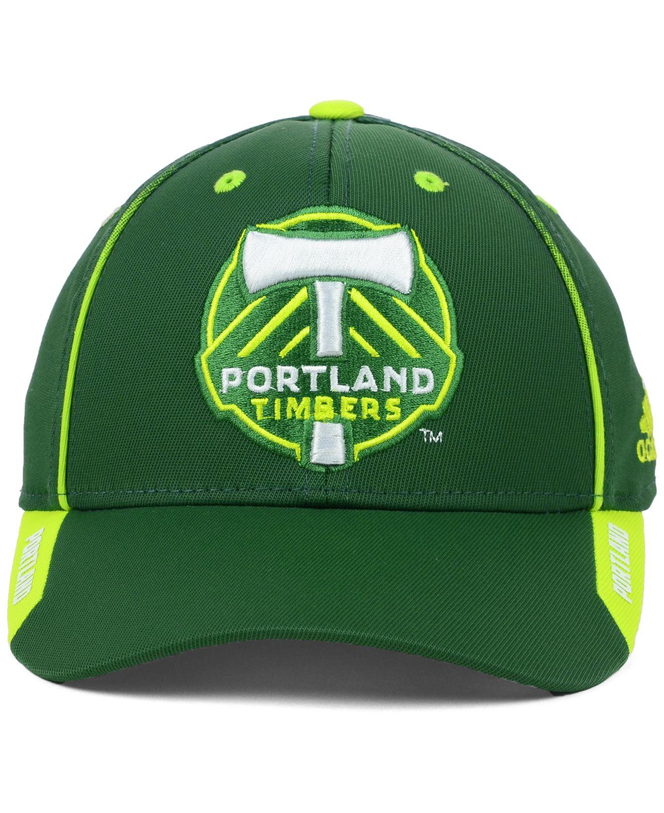 Portland Timbers: Adidas Portland Timbers Mls Mid Fielder Cap In
