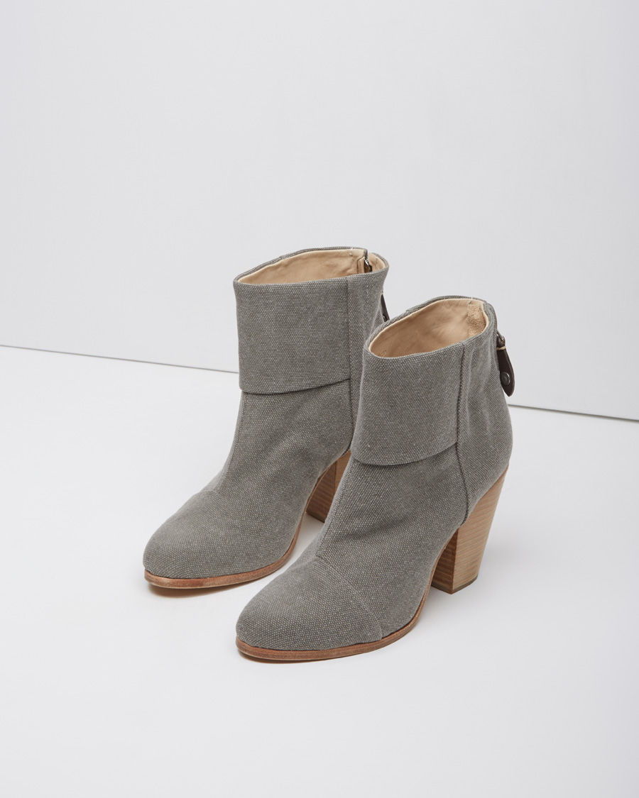 Gucci Grey Suede Classic Newbury Boots