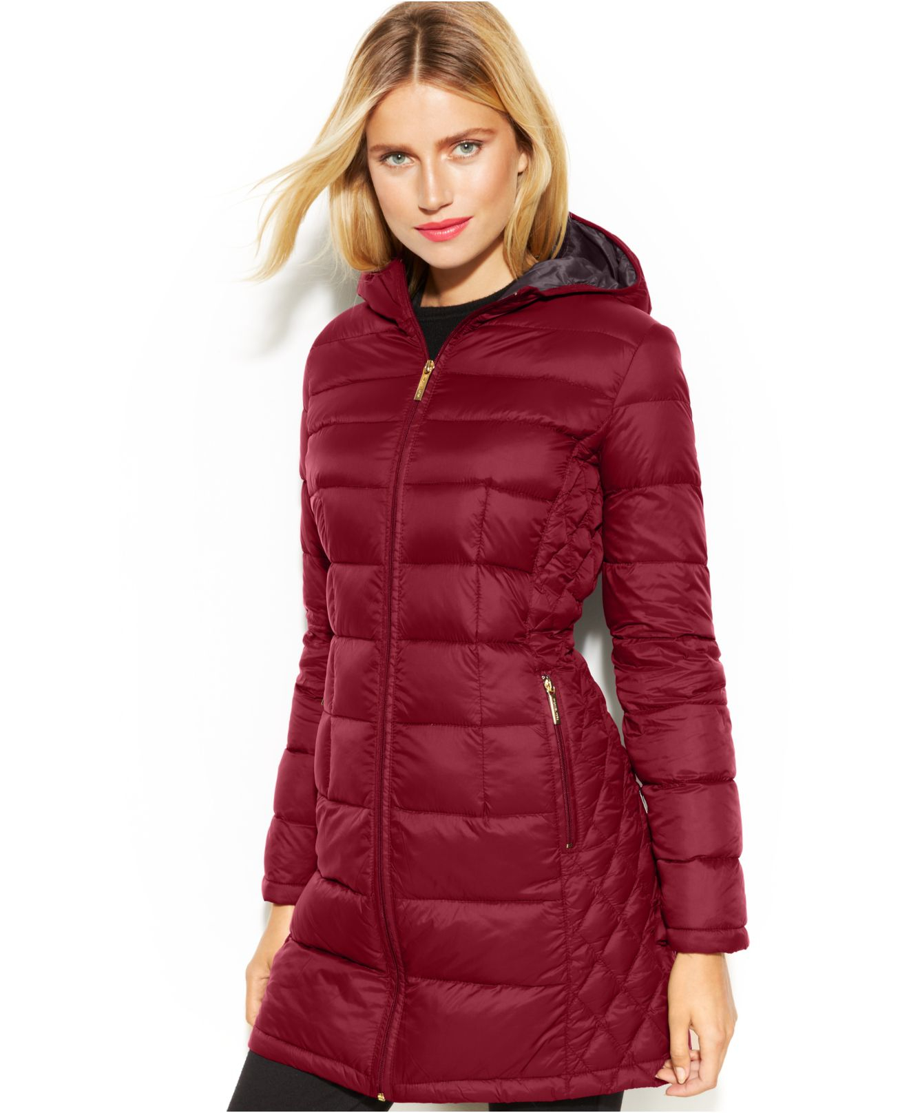Michael kors Michael Petite Quilted Down Packable Puffer Coat in ...