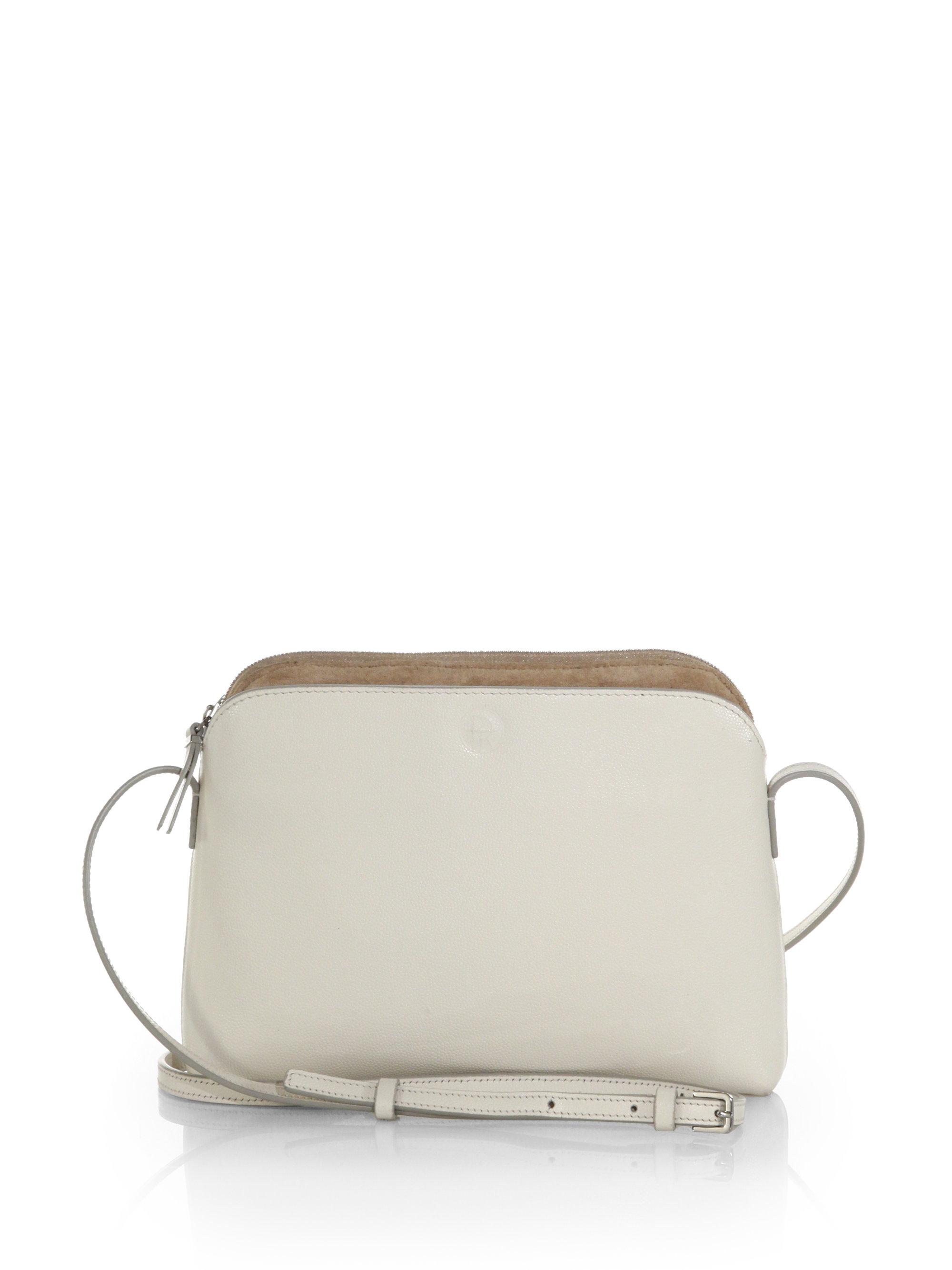72ccb312e The Row Multi-pouch Crossbody Bag in White - Lyst