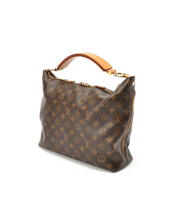 Louis Vuitton Preowned Brown Monogram Canvas Sully Mm Bag in Brown ... 48141f750