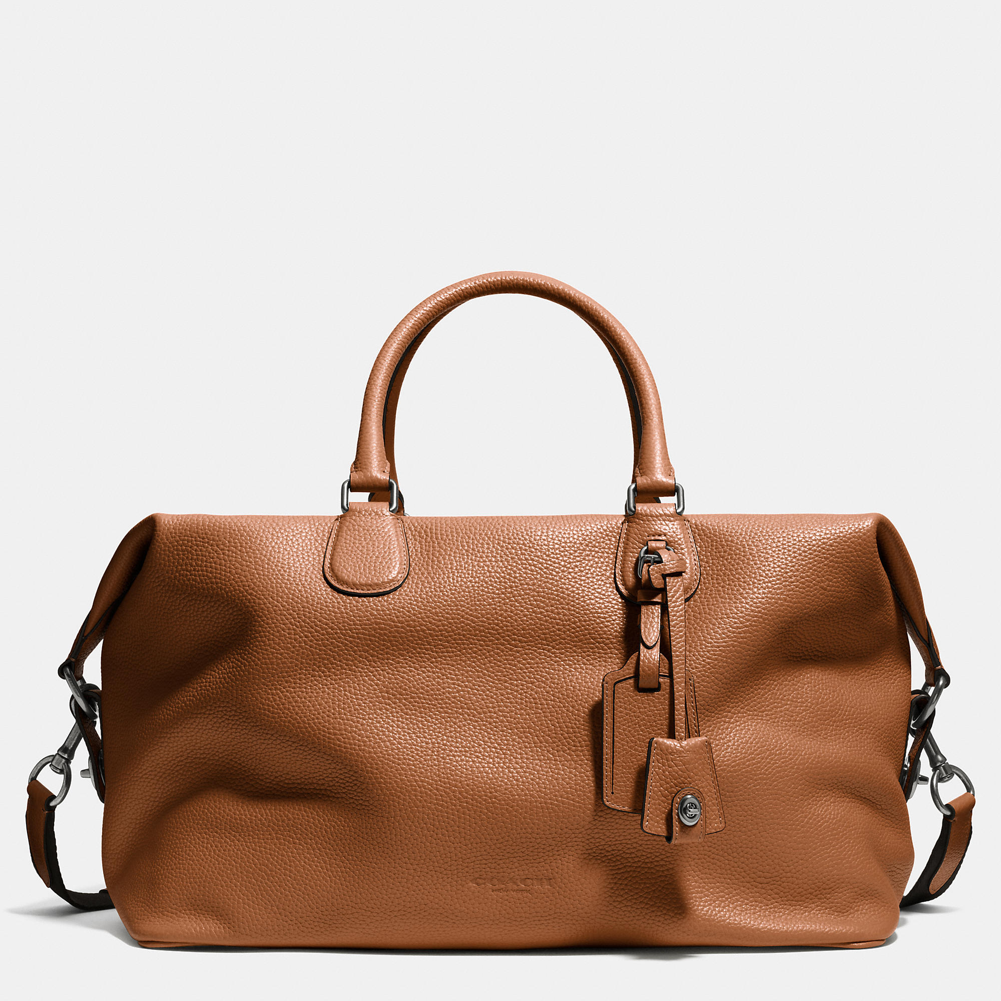 ecf48cd16 ... spain australia lyst coach explorer bag in pebble leather in brown for  men 230d7 07fbe 90367