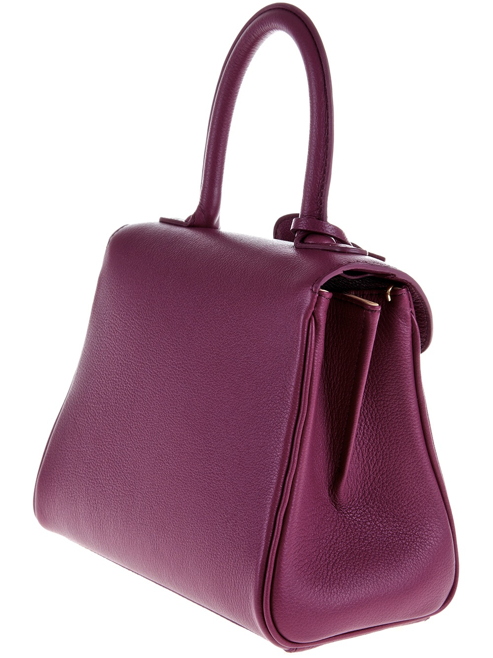 Lyst Delvaux Brilliant Mini Bag In Purple