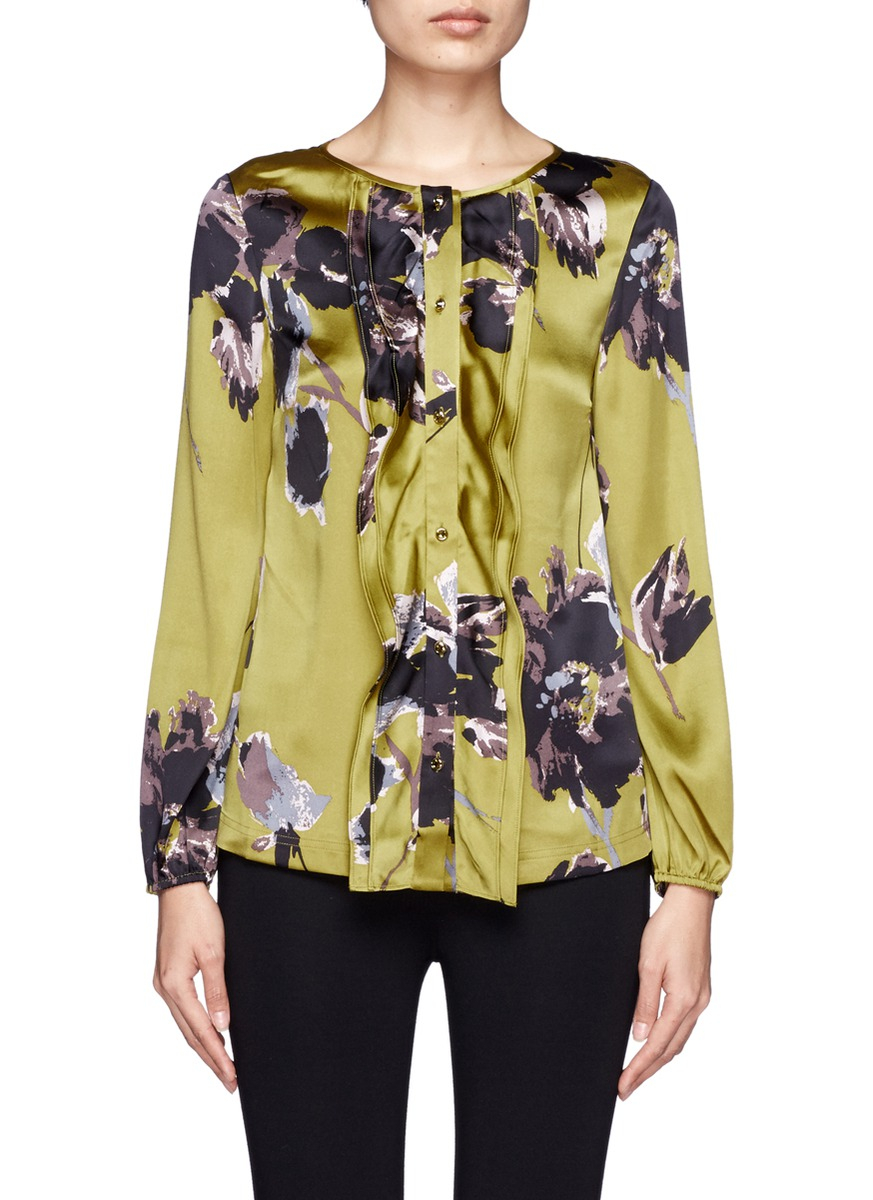 Floral Blouses For Women