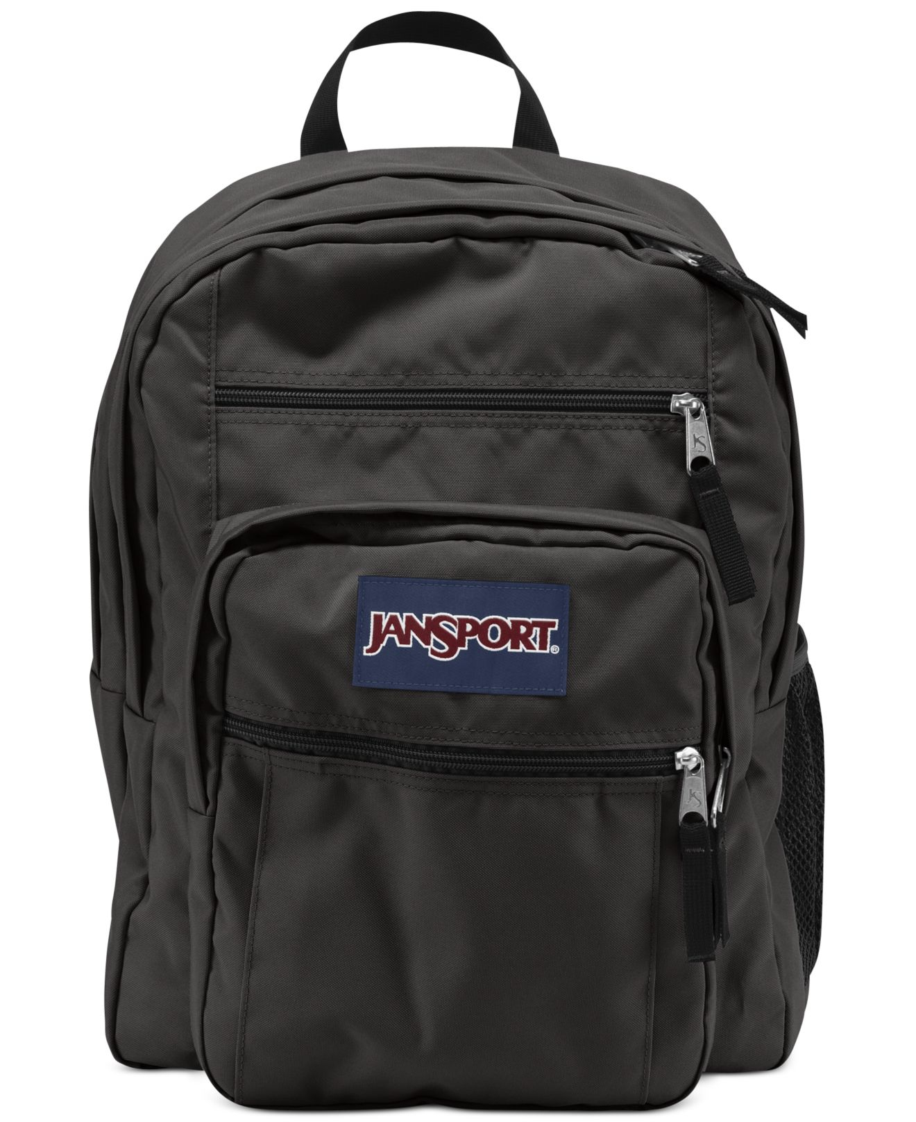 Jansport Big Student Backpack, Forge Grey in Gray (Forge ...