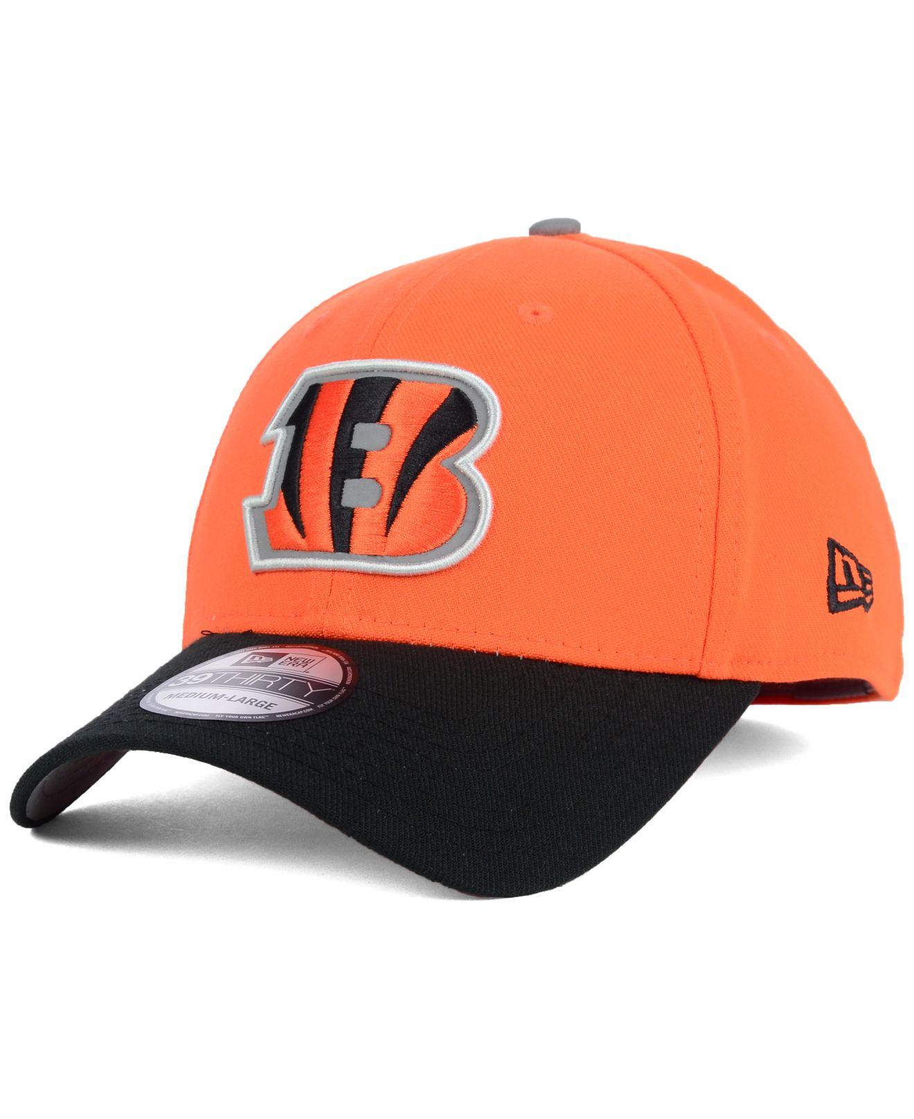 new style 141c9 15866 Lyst - KTZ Cincinnati Bengals On Field Reflective 39Thirty Cap in ...