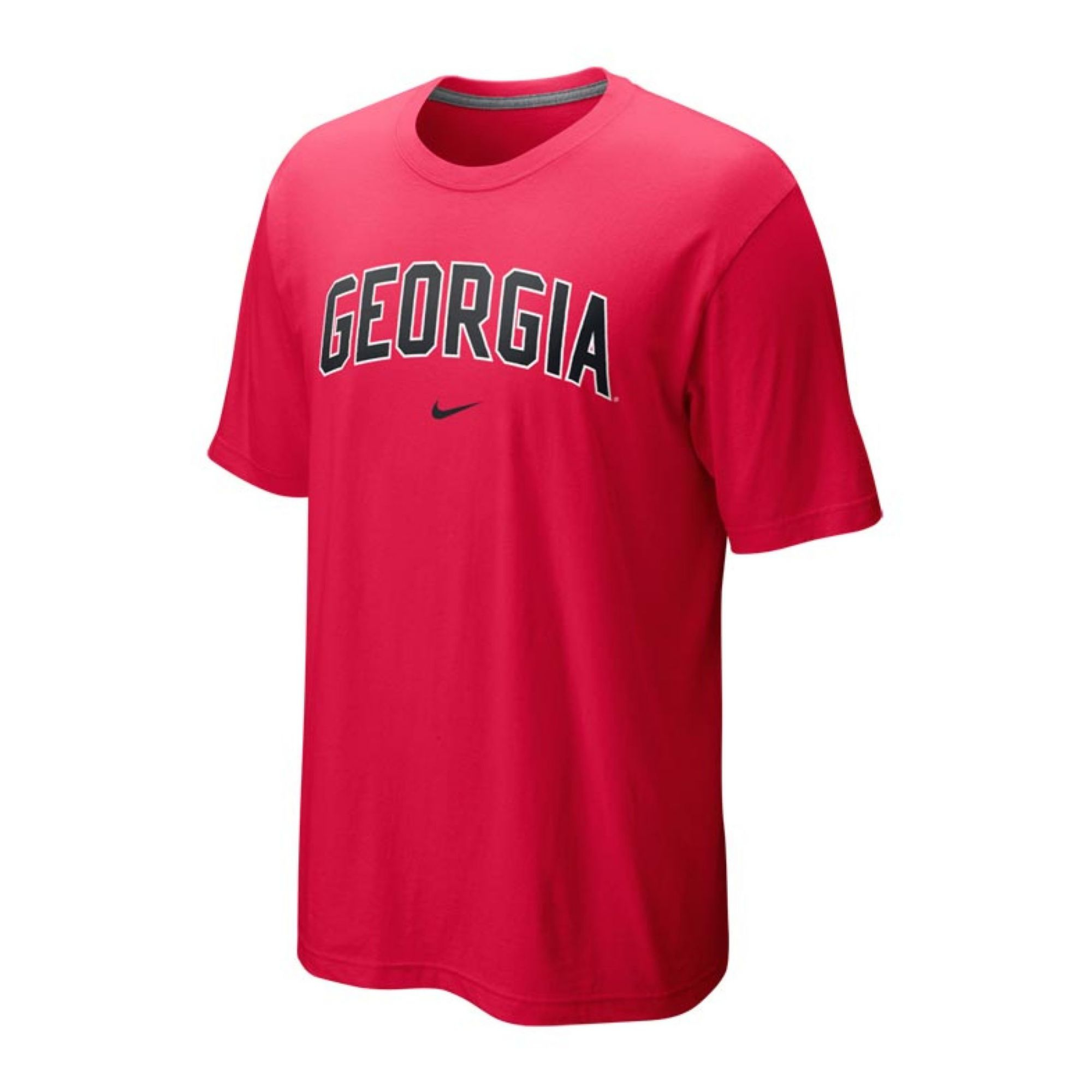 Nike Mens Georgia Bulldogs Classic Arch Tshirt In Red For