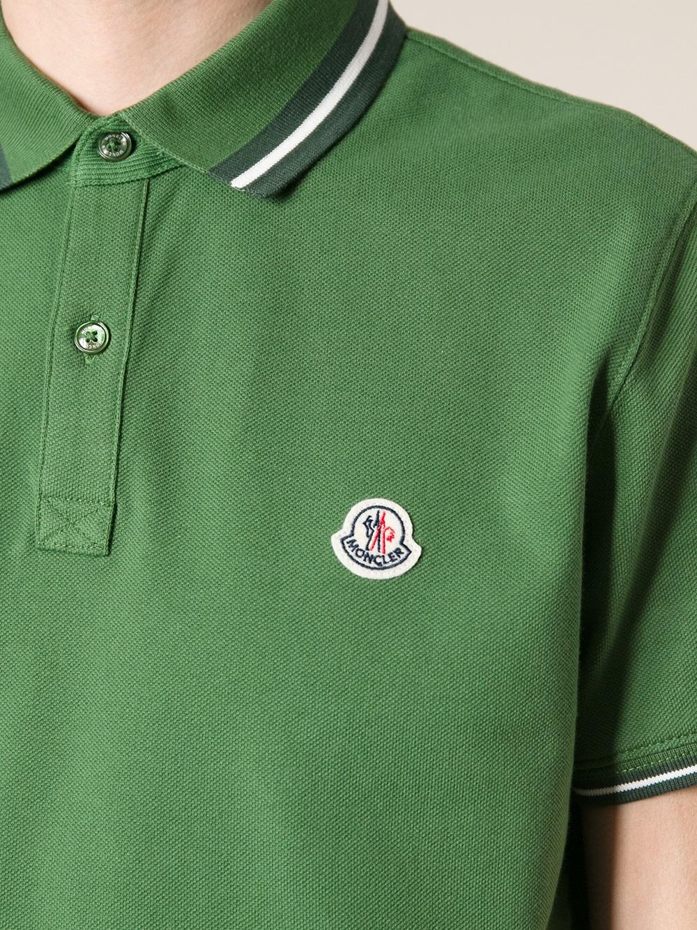 moncler shirt green