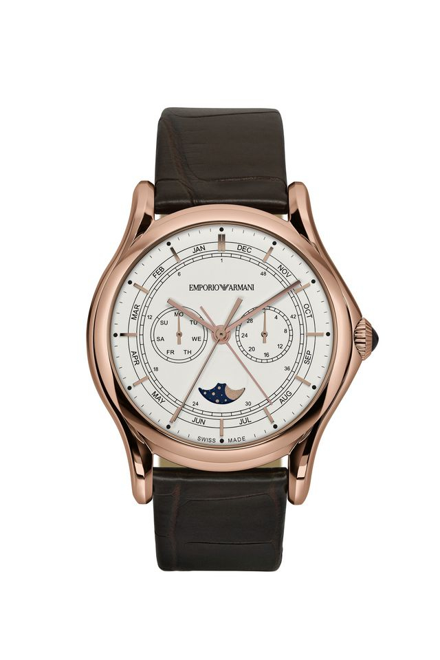 Lyst emporio armani swiss made watches in pink for men for Swiss made watches