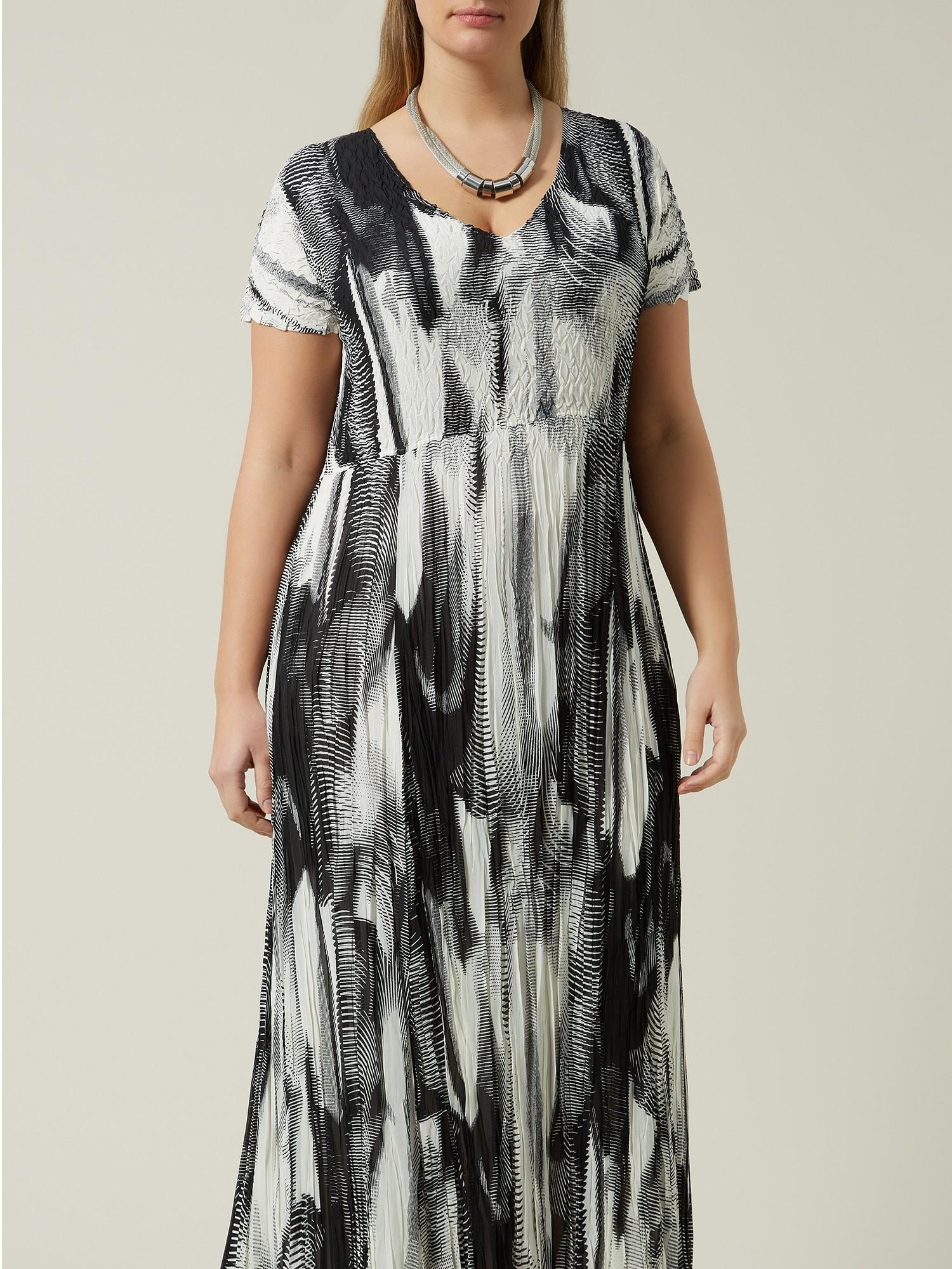 Windsmoor Crinkle Dress In White Lyst