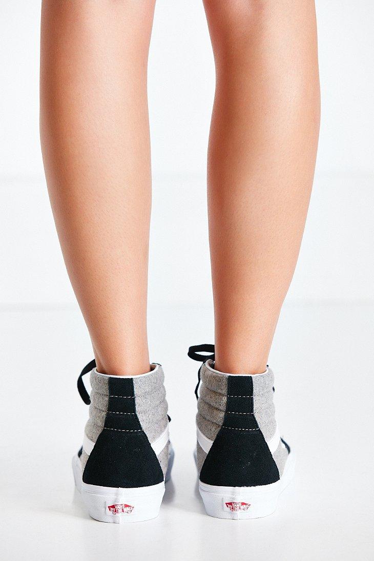 bc0cf669b7 Lyst - Vans Sk8-hi Wool Sport Sneaker in Black