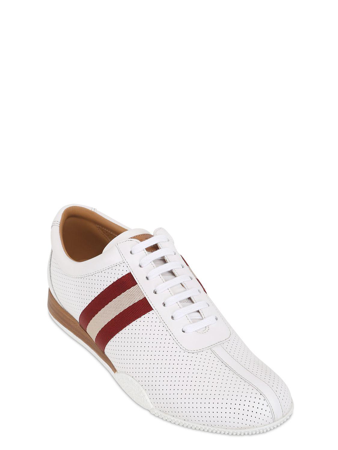 White Bally Shoes