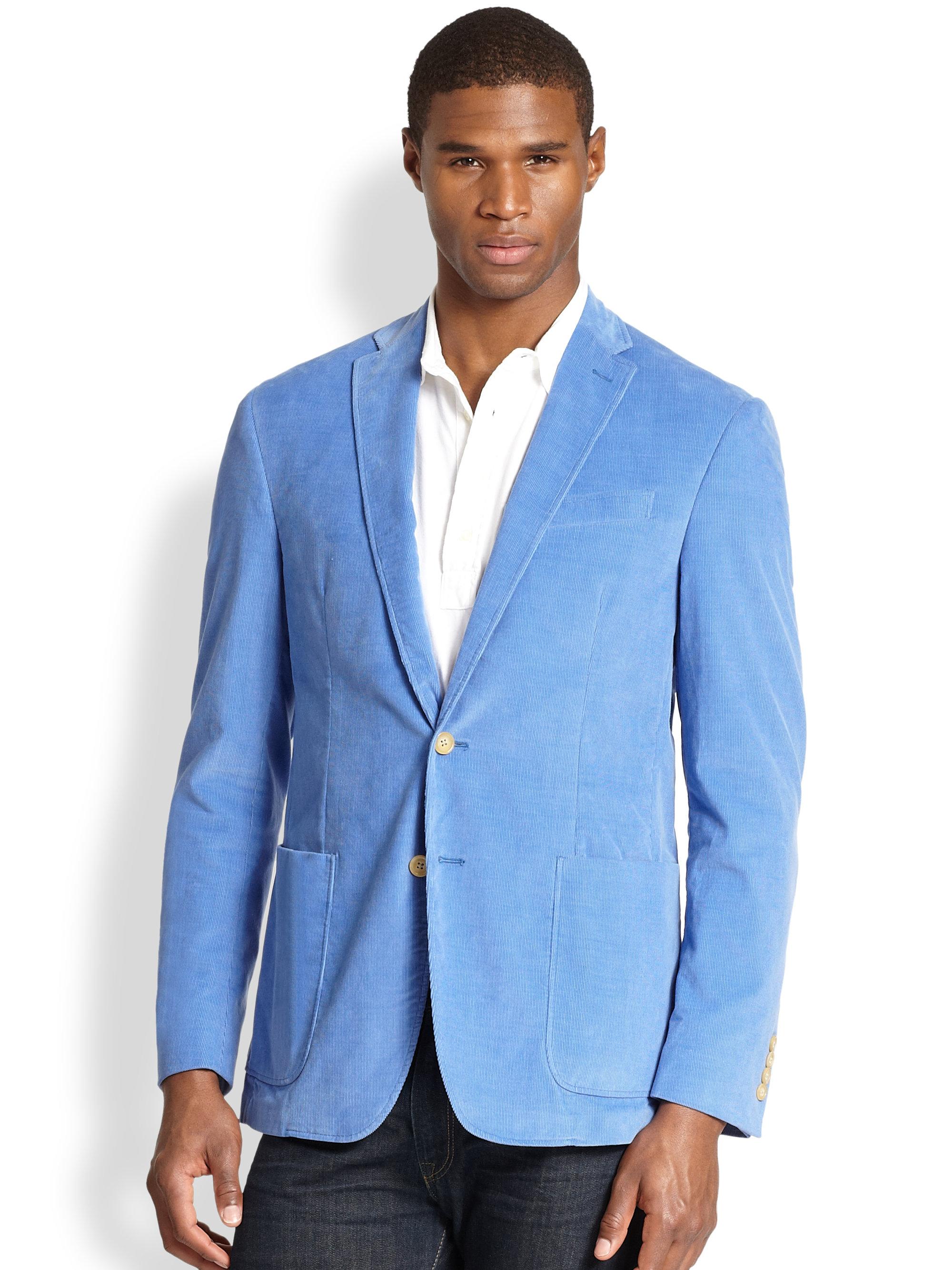 Ralph lauren men 39 s corduroy sport coat dr e horn gmbh for Polo shirt with sport coat