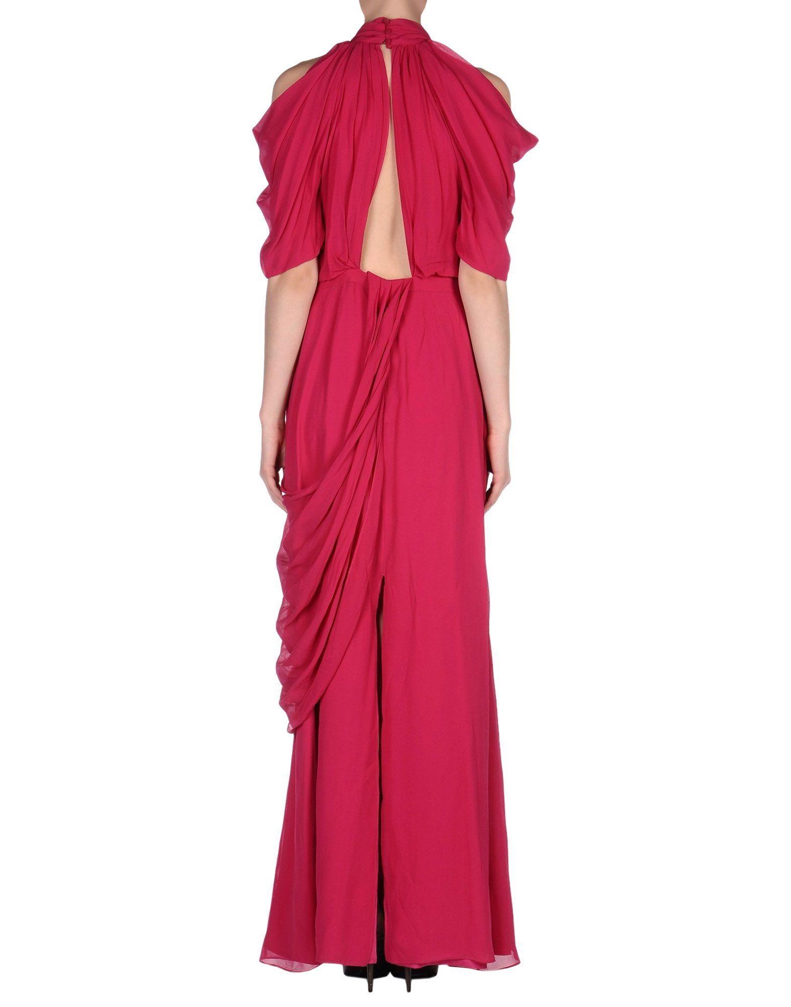 viktor rolf long dress in red garnet lyst. Black Bedroom Furniture Sets. Home Design Ideas