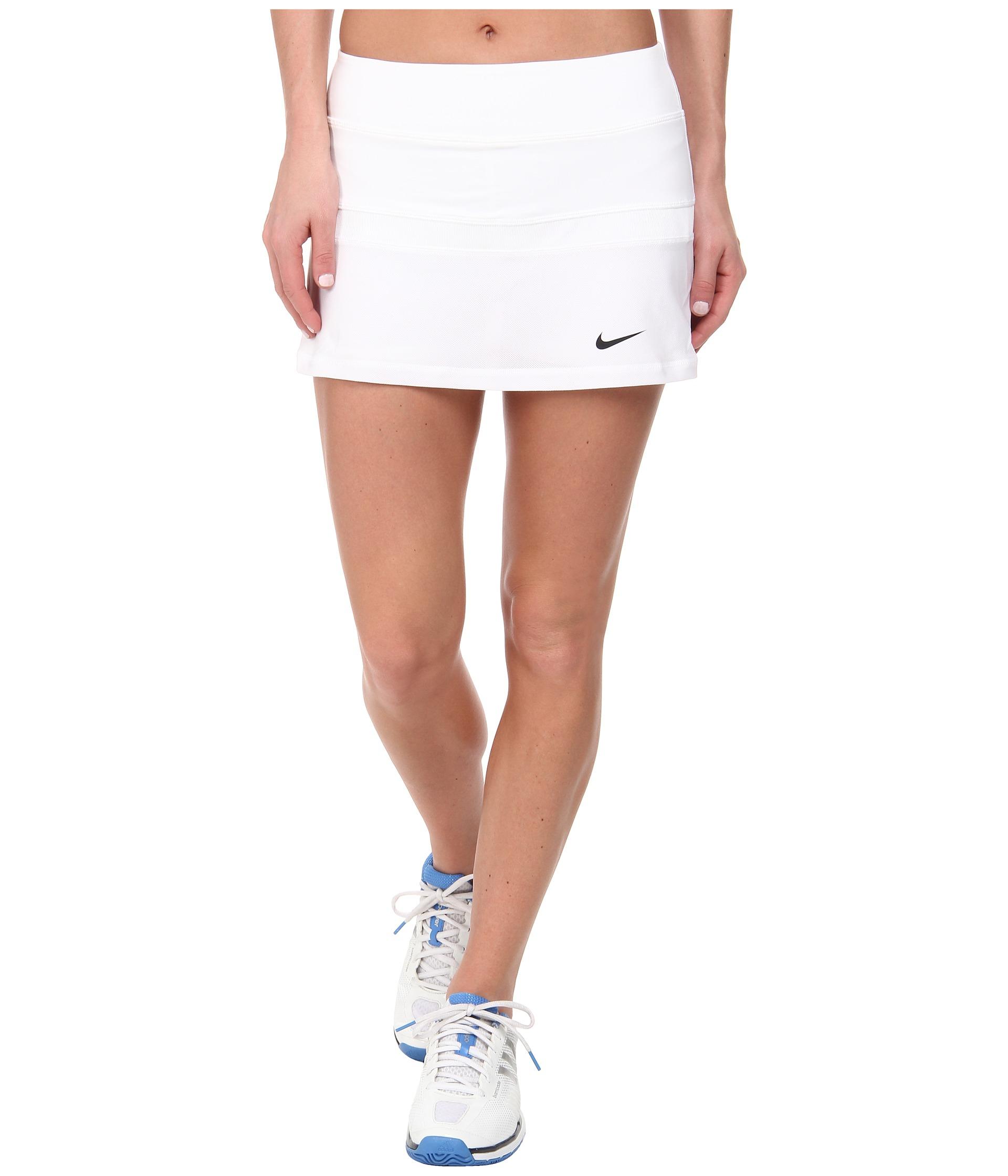f1e1e3f6d4e Lyst - Nike Court Skort in White