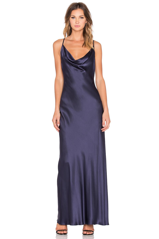 Amanda floral print bandeau maxi dress